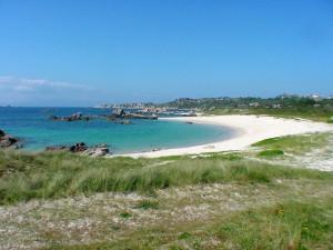 Playa Barreiro - Con Negro cercana al camping Paisaxe