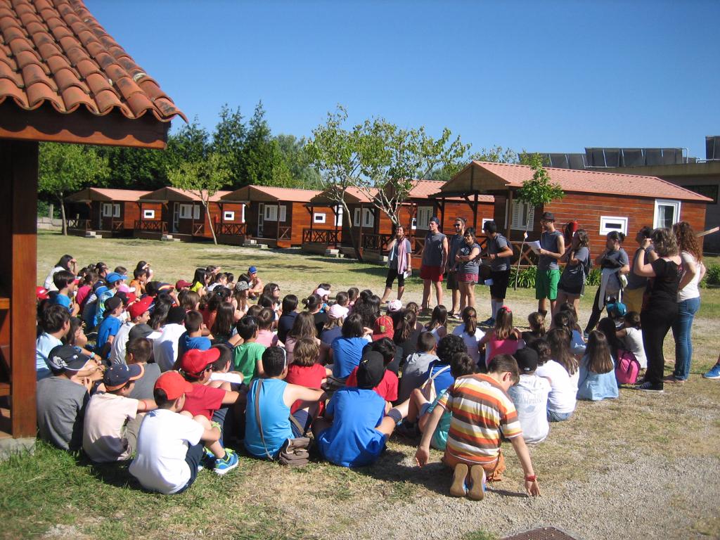Actividades para escolares Camping Paisaxe