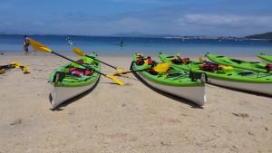 Actividades Camping Paisaxe - Kayak