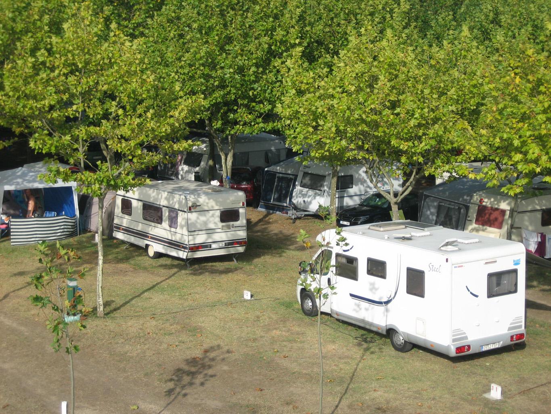 caravanas Camping Paisaxe II O Grove