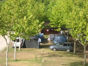 zona de sombra Camping Paisaxe II O Grove