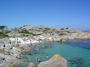 Playa Fervide - Cerca del camping Paisaxe