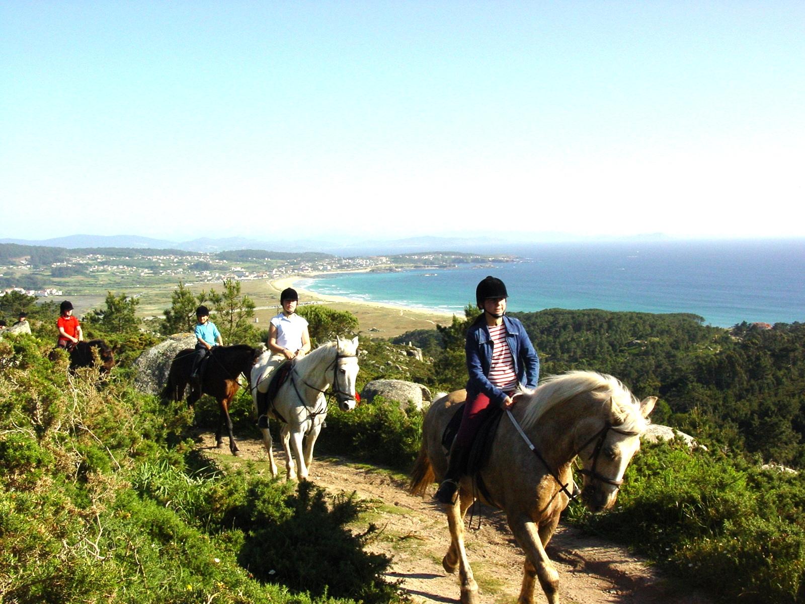 Rutas a caballo O Grove