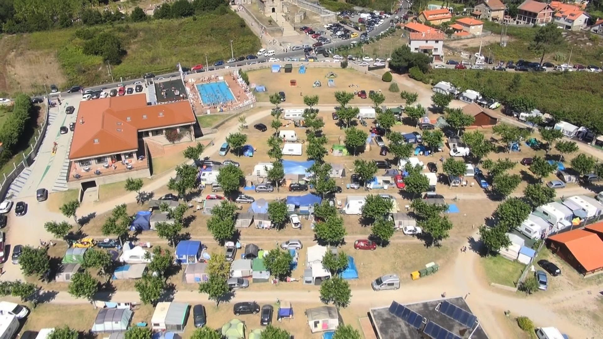 Alojamiento Camping Playa Paisaxe