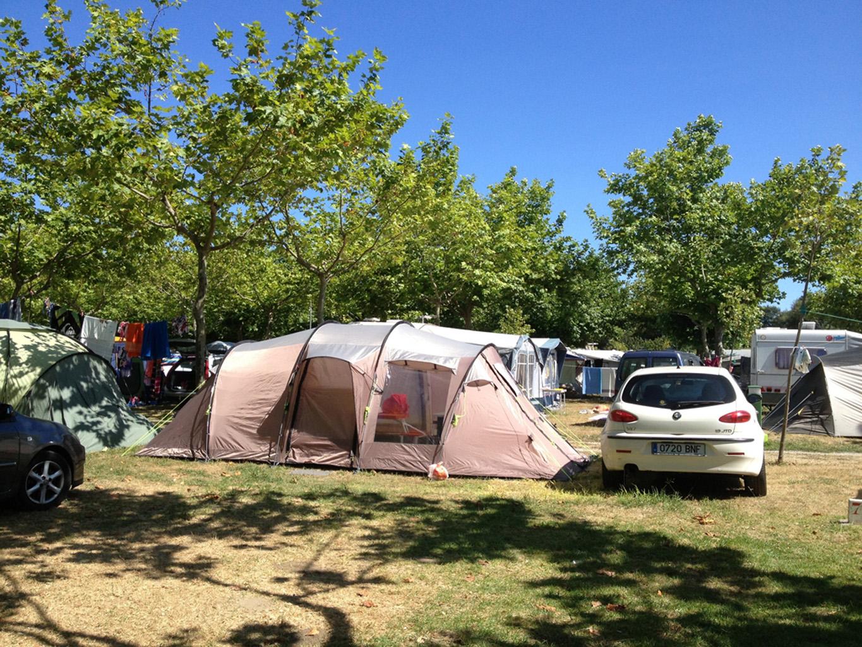Acampada Camping Paisaxe II O Grove