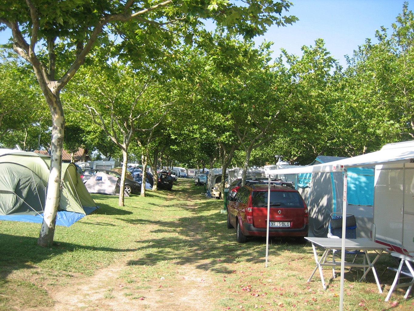 Parcela normal - Camping Paisaxe II O Grove